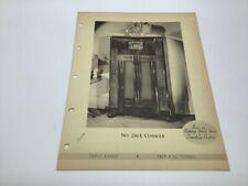 Original Stromberg Carlson Deco Radio Paper 230 L Console