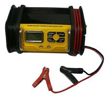 12V Fully Automatic 2/5/10/20/50A Motorcycle ATV Battery Charger w/ Engine Start