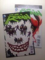 We Are Robin # 8 & 9 DC Comics New 52 Batman Robin The Joker VF+
