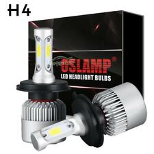 2X CREE H4 9003 HB2 LED Headlight Bulb kit 80W 9600LM High Low beam 6000k HID