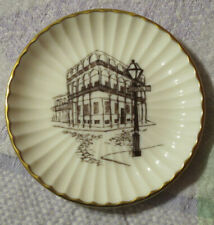Vintage 1973 Lenox French Quarter New Orleans Bourbon Collector Plate 4in Otis