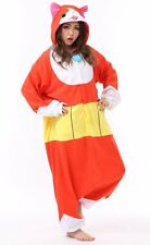 New Yokai Watch Jibanyan Kigurumi Pajamas Cosplay Halloween Japan pile F/S