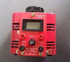 240 Volt AC Variable Transformator Ausgang von 0 bis 250 Volt 0.5KVA 3A VARIAC