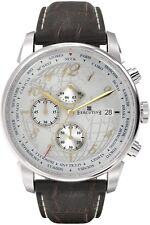 EXECUTIVE Club Herrenuhr Chronograph Lederarmband Datum sehr Elegant