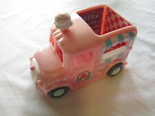 FISHER PRICE Sweet Streets Dollhouse ICE CREAM TREATS TRUCK Cute Town Vehicle