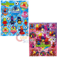 Backyardigans Stickers Set 2 Sheets Removable Wall Window Vinyl Stickers