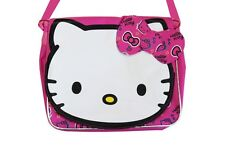 """Hello Kitty Face Messenger ( Pink ) -  9"""" For Kid BRAND NEW Licensed Product"""