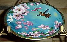 Gems of Nature The Beautiful Hummingbirds Rufous Hummingbird Bradford Bird Plate