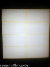 Über 500 Stück Klebeetiketten ca 65x33mm Weiß Etiketten selbstklebend Etikettet