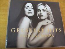 PAOLA & CHIARA GREATEST HITS CD+DVD   MINT- DIGIPACK