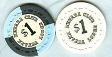 NEVADA CLUB-LODGE CASINO (LAKE TAHOE) $1 CHIPS (2) (AVG) (N5376-7).xls