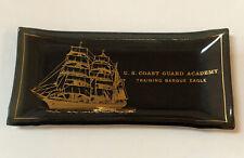 Vintage Uscg Us Coast Guard Academy Training Barque Eagle Change Plate / Ashtray