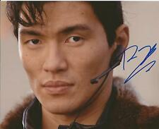 Hand Signed 8x10 photo RICK YUNE in JAMES BOND as ZAO in DIE ANOTHER DAY + COA