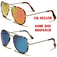 Camouflage AirForce Pilot Brow Bar Designer Mens Womens Sunglasses 100%UV400 01c