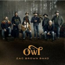 Zac Brown Band - The Owl (CD,2019,BMG) Brand New Factory Sealed! USA!