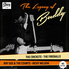 SLEAZY EP: THE LEGACY OF BUDDY HOLLY - Crickets/Fireballs/Ray Gee/Ricky Nelson