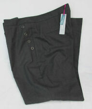 Marks and Spencer Plus Size Mid Tapered Trousers for Women