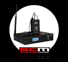 ASHTON SMART ACOUSTIC IEM250 WIRELESS IN EAR MONITOR - FOLDBACK SYSTEM  + CASE