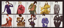 GB MNH STAMP SET 2012 GREAT BRITISH FASHION SG 3309-3318 UMM