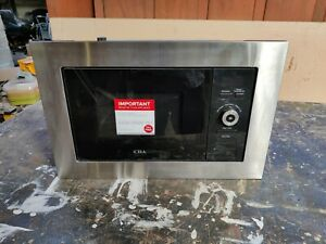CDA  Microwave Oven Stainles Steel & Black Integrated Built In 900W  VM130SS 25L