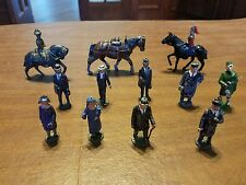 Lead Metal Train Garden Figures Johillco Britains England Barclay Cowboy Soldier