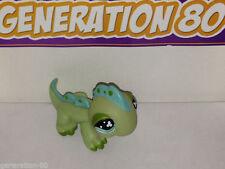 Littlest PetShop Iguane Vert Yeux Trefles N°499 Pet Shop Iguana