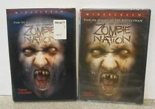Zombie Nation (DVD, 2006) RARE BRAND NEW WITH LENTICULAR SLIPCOVER