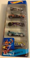 MATTEL HOT WHEELS - HW CITY 5 - HW CITY - 2014 - BFB34 - NEW BOXED - RARE