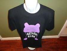 NATHAN RYAN SIGNED T SHIRT SIZE ADULT LARGE