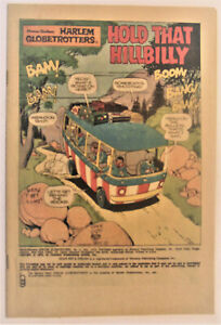 # 2 1972 HARLEM GLOBE TROTTERS COVERLESS COMIC - combined shipping