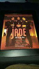 Jade Jade To The Max Rare Original Promo Poster Ad Framed!