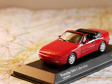 MINICHAMPS PORSCHE 944 CABRIOLET 1991 RED ART.400062230 NEW DIE-CAST