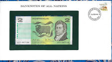 Banknotes of All Nations Australia 2 Dollars 1979 P43c Unc Knight/Stone Jty