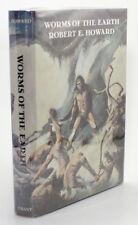 First Edition 1974 Worms of The Earth Robert Howard David Ireland Bran Mak Morn