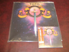 TOTO TOTO S/T RARE JAPAN OBI REPLICA AUDIOPHILE LIMITED CD + AUDIOPHILE 180G LP