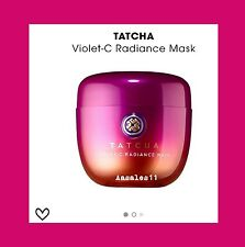 NWB Tatcha VIOLET C RADIANCE MASK 1.7oz/50mL~ GLOWING SKIN~ NEW TO THE LINE ~