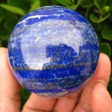 Naturel Lapis Lazuli Sphère Boule Cristal Quartz Pierre Reiki Guérison + Support