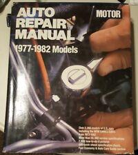 Motor Auto Repair Manual 1977-1982