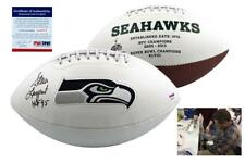 Steve Largent SIGNED Seattle Seahawks Football - PSA/DNA Autographed w/ Photo