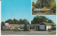 "Twin Falls ID  ""The Colonial Motel"" Postcard  Idaho  *FREE U.S. SHIPPING*"