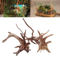 Wood Natural Trunk Driftwood Tree Aquarium Fish Tank Plant Ornament Decoration