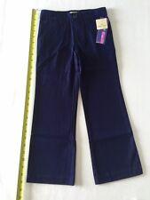 Cherokee Ultimate Girls  School Uniform Sz 6 Xavier Navy Pants Adjustable Waist