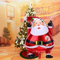 Christmas Santa Claus Foil Balloons Birthday Wedding Party Decoration Xmas Gift
