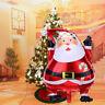 Merry Christmas Tree Santa Foil Latex Helium Balloon Wedding Party Fun Snowman