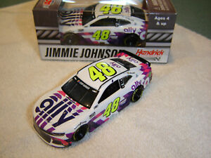 Jimmie Johnson 2020 Lionel #48 ALLY WHITE CAMARO 1/64 Action NEW IN STOCK