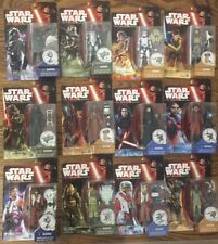 """Lot of 12 STAR WARS The Force Awakens FIGURES 3.5"""" Kylo Red Captain Phasma +++"""