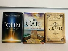 Adam Hamilton ~ Bible Study Participant Books: JOHN, CREED, THE CALL
