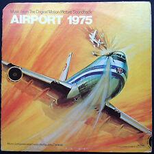 Airport 1975 FILM SOUNDTRACK Score OST LP John Cacavas [IMPORT] Charlton Heston