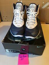 Nike Air Max LeBron VIII V2 Blue Grey Yankee Sz 16 VNDS  Basketball Sportswear T