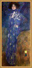 Bildnis Emilie Flöge Jungendstil Secession Frauenbild LW Gustav Klimt A2 045